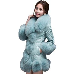 Jackets & Blazers - Woman's  Faux Fur Mink Coat